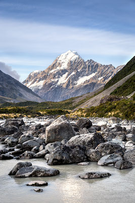Aoraki / Mount Cook, Neuseeland (c) Salomé Weber