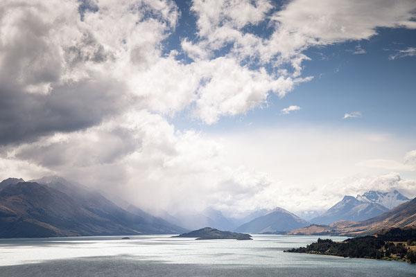 Aussicht in der Nähe von Glenorchy in Neuseeland (c) Salomé Weber