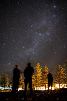 Milchstraße über Kaikoura, Neuseeland (c) Salomé Weber