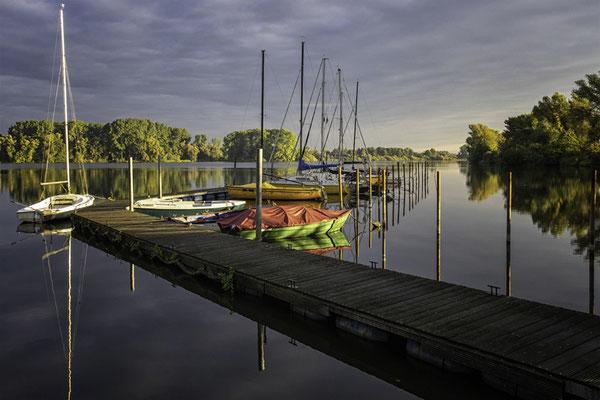 Vörder See am Morgen