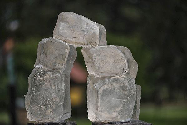 Fünf Glasformen-wie Tor
