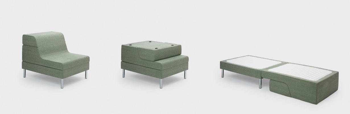 So einfach gehts - Im Handumdrehen ein Einzelbett