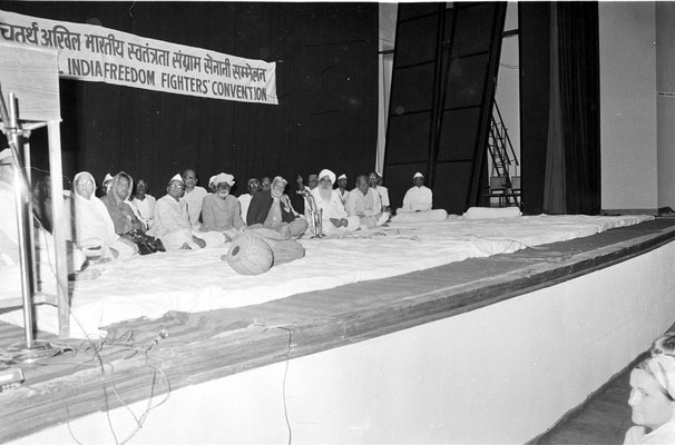 Sant Kirpal Singh - Pratap Singh - Indian Freedom Fighters Convention 1973