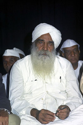 Sant Kirpal Singh - India Freedom Fighters Convention 1973