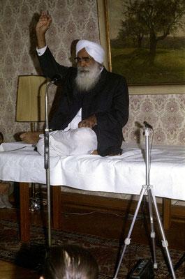 Sant Kirpal Singh - 01./02. Sept. 1972, Parkhotel Stuttgart West-Deutschland