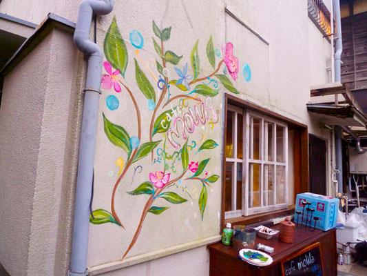 鎌倉にあるカフェ。mowa