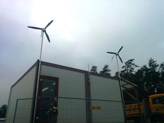 Mikrowindanlagen für Strom im Winter