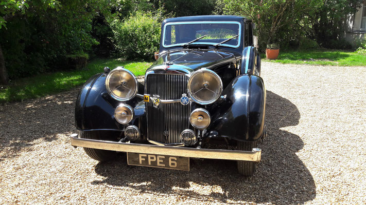 Alvis Speed 25 SB, 1937