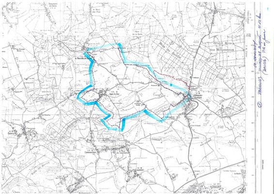 circuit Le Genlisien - 15 kms