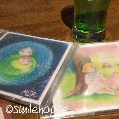 CDジャケット(イラスト&デザイン、Mari&Rina)