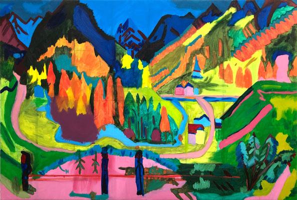 Aaron »Ernst Ludwig Kirchner, Sertigtal« 11.6.2020