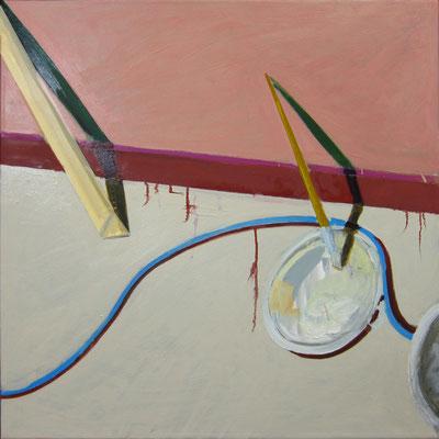 Günter »Atelierszene mit Kabel, Pinsel, Palette«
