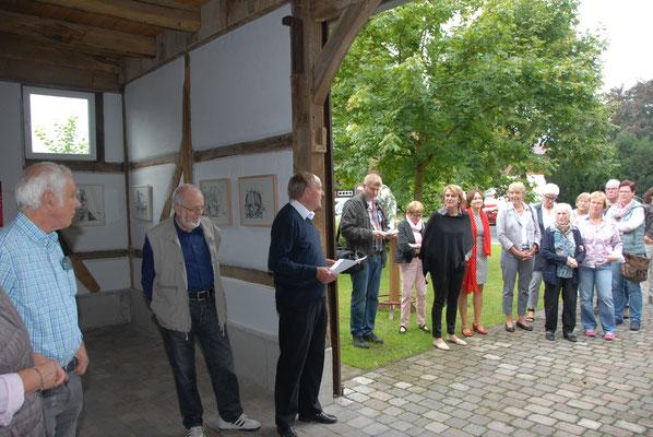 Ausstellung und Eröffnung am 13. September 2015