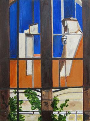 Renate »Oskar durchs Fenster« 21.8.2020