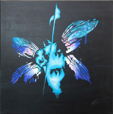 Cornelius u. Sebastian »Also das Logo ist von der Band Linkin Park und von dem Album Hybrid Theorie.«