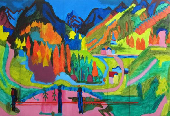 Aaron »Ernst Ludwig Kirchner / Sertigtal«