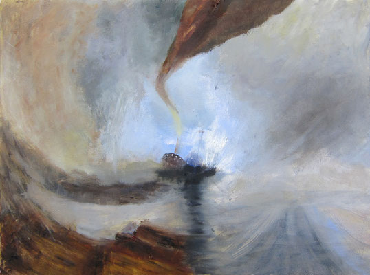 Gitta »Turner / Snow Storm - Steam Boat off a Harbour's Mouth«