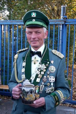 Kreiskönig Wilfried Wolke