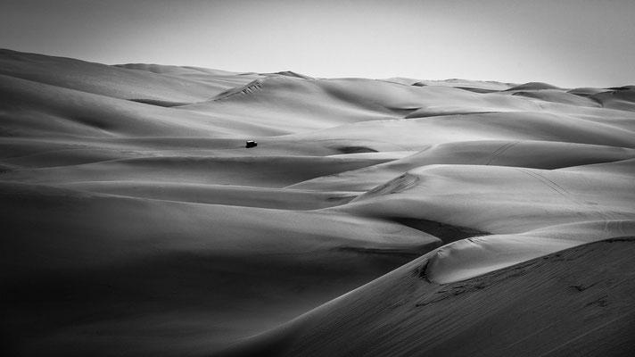long wall dunes namib desert | south of walvis bay | namibia 2015 | africa