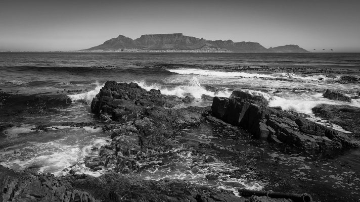robben island | view cape town | south africa 2015