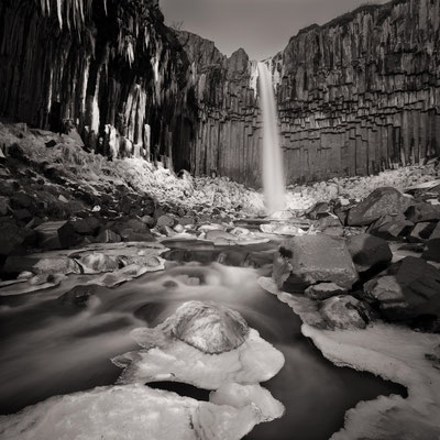 waterfall | svartifoss | iceland – 2016