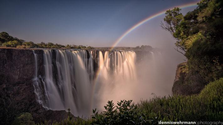 rainbow | victoria falls | zimbabwe 2014