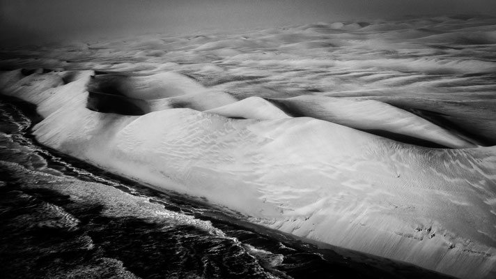 sand dunes namib desert | bird`s eye view scenic flight | namibia 2015 | africa