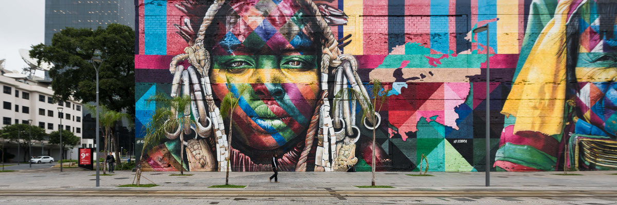 eduardo kobra | streetart | rio de janeiro | brazil 2017