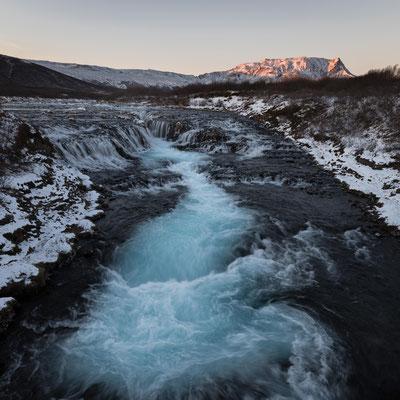 waterfall bruarfoss | island 2016