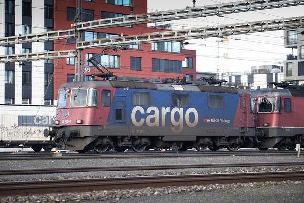 Re 4/4, 11160 (420 160-4 Cargo), Rotkreuz (18.12.2013) ©pannerrail.com