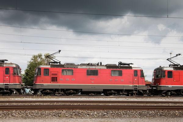 Re 4/4, 11333, Rotkreuz (11.09.2013) ©pannerrail.com