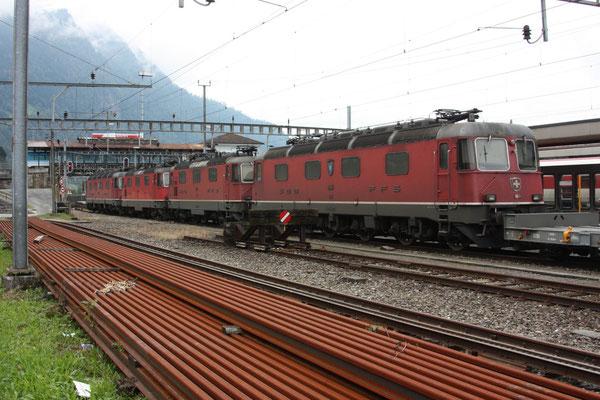 """Re 6/6 11654 """"Villeneuve"""", Arth-Goldau (26.09.2010) ©pannerrail.com"""
