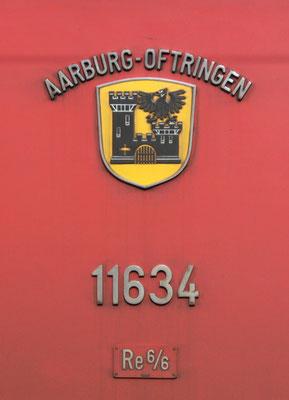 Wappen Aarburg-Oftringen