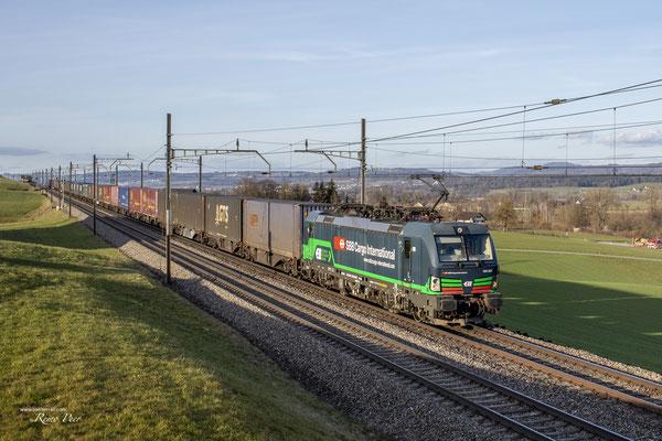 SBB Cargo International (ELL), BR 193 257, Sins (17.02.2021) ©pannerrail.com