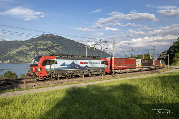 "SBB Cargo International, BR 193 478 ""Gottardo"", Rotkreuz (30.08.2020) ©pannerrail.com"