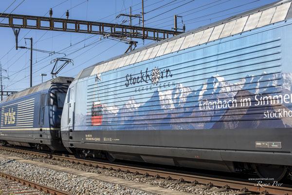 "Re 465 016-4, ""Stockhorn"", Pratteln (10.09.2020) ©pannerrail.com"