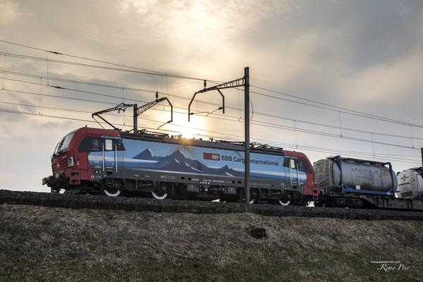 "SBB Cargo International, BR 193 466 ""Bellinzona"", Rotkreuz (27.03.2021) ©pannerrail.com"