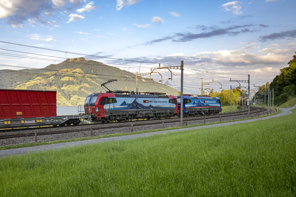 "SBB Cargo International, BR 193 466 ""Bellinzona"", Immensee (19.07.2020) ©pannerrail.com"
