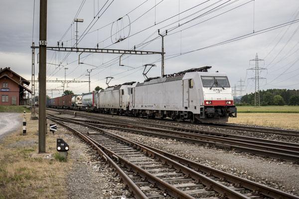 Crossrail, BR 186 910, Rotkreuz (23.05.2020) ©pannerrail.com
