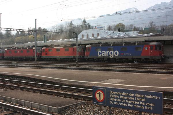 "Re 6/6  11617 ""Heerbrugg"", Arth-Goldau (19.04.2010) ©pannerrail.com"