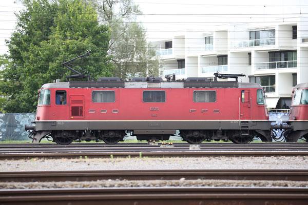 Re 4/4, 11370, Rotkreuz (18.07.2013) ©pannerrail.com
