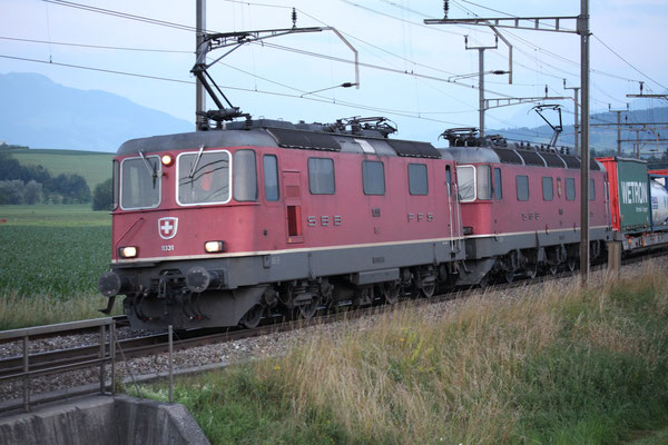 Re 4/4, 11331, Oberrüti (11.07.2013) ©pannerrail.com