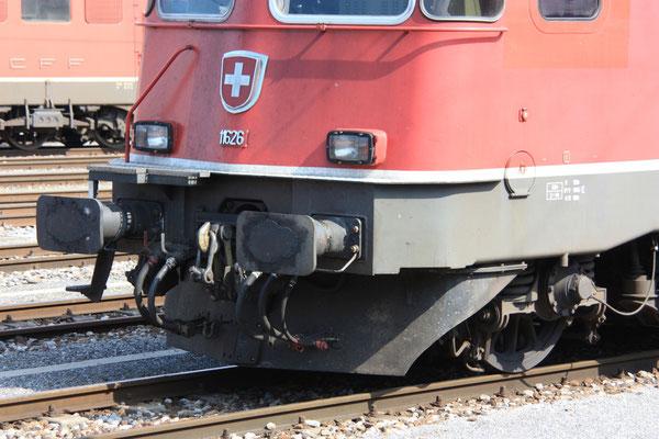 """Re 6/6 11626 """"Zollikofen"""", Buchs (31.07.2011) ©pannerrail.com"""