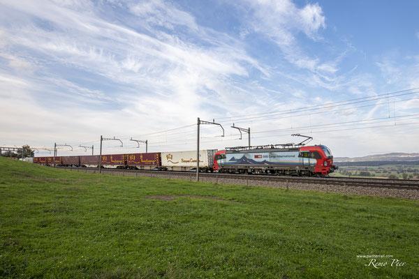 """SBB Cargo International, BR 193 473 """"Lugano"""", Mühlau (14.10.2020) ©pannerrail.com"""