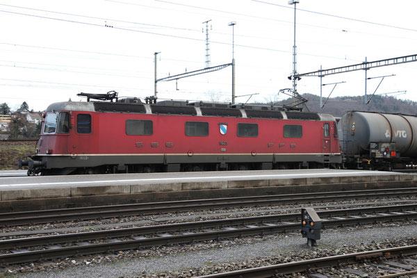 """Re 6/6 11623 """"Rupperswil"""", Killwangen (28.12.2012) ©pannerrail.com"""