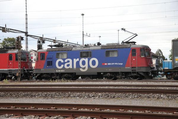 Re 4/4, 11346 (420 346-9 Cargo), Rotkreuz (11.09.2013) ©pannerrail.com