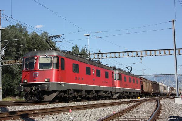 """Re 6/6 11652 """"Kerzers"""", Sargans (27.06.2011) ©pannerrail.com"""
