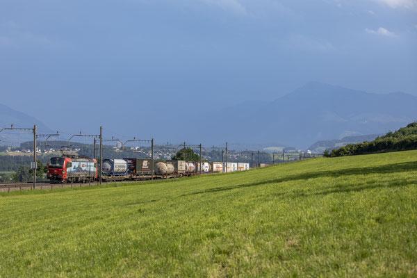 """SBB Cargo International, BR 193 475 """"Domodossola"""", Mühlau (01.07.2020) ©pannerrail.com"""