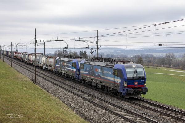 "SBB Cargo International, BR 193 516 ""Aare"", Sins (27.02.2021) ©pannerrail.com"