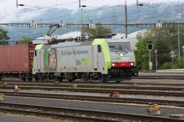 BLS Re 486 503, Rotkreuz (13.05.2010) ©pannerrail.com